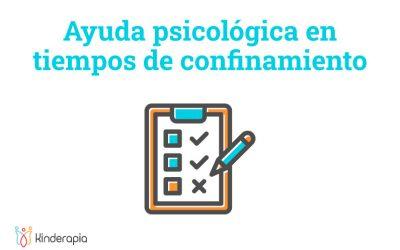 Ayuda psicológica en tiempos de confinamiento